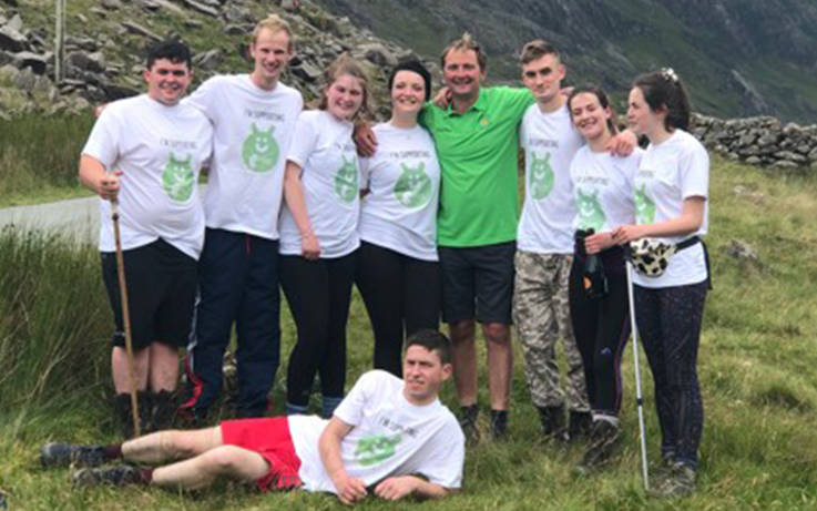 Recognition for town YFC's three peaks success