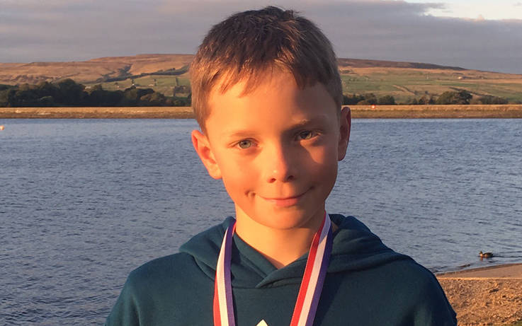 Toby sails in to claim Optimist title at regional junior championships
