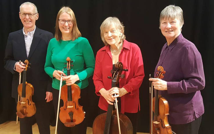 String quartet returns to Barnard Castle for Sunday afternoon of classical music