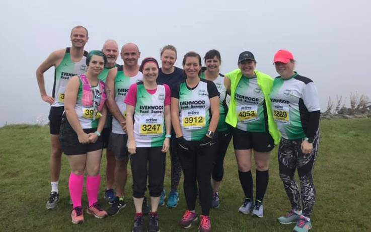 Janet hotfoots it to Hart for birthday run