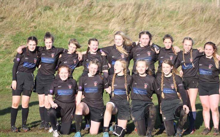 Tries galore as Barney girls rattle up 60 points