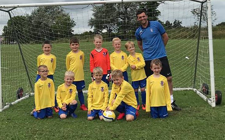 Young footballers shine before season is called off
