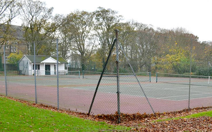 Resurfacing work holds up players' return to court