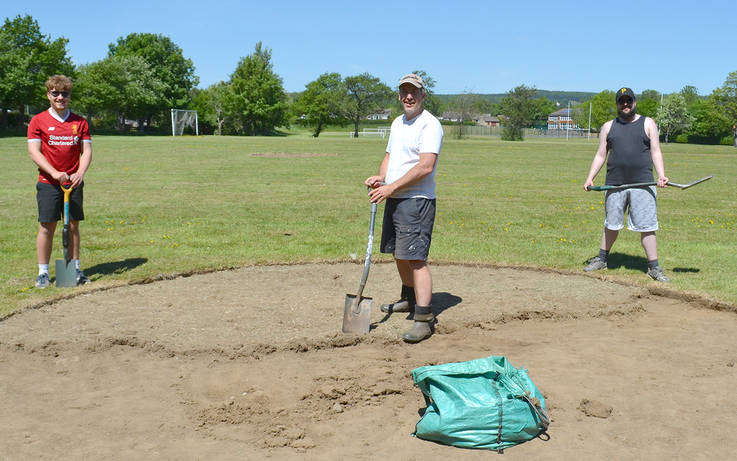 Spartans' field of dreams takes shape at Staindrop