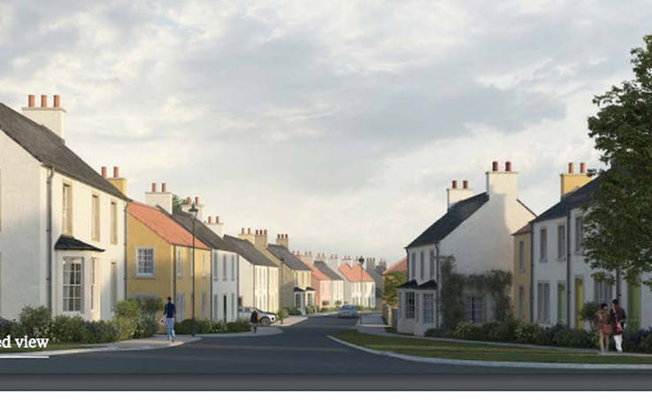 Mixed views on plans to build housing estates in dale villages