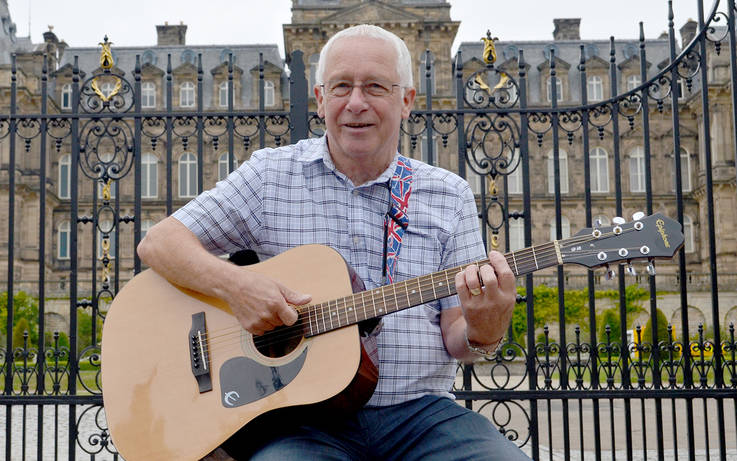 Eddie's tuning up for record-breaking jam