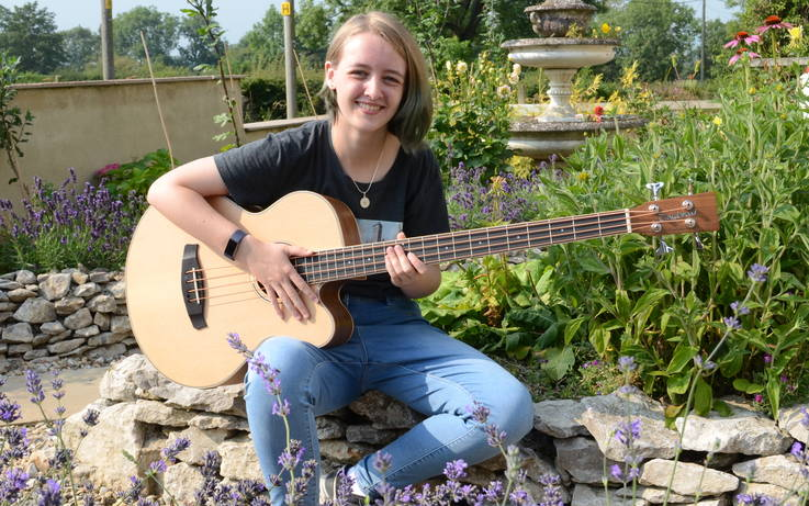 On song Kirsty wins a place in the National Youth Folk Ensemble