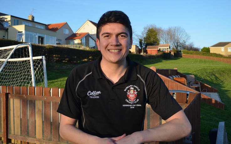 James back as captain of Barnard Castle CC for a fourth campaign