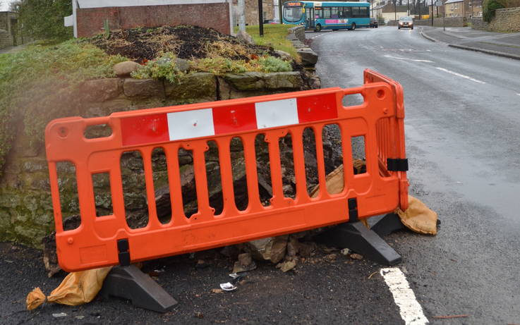 'Be patient' plea over Gainford traffic island repairs