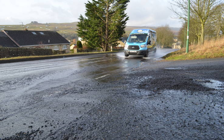 Calls for probe into cause of flooded road