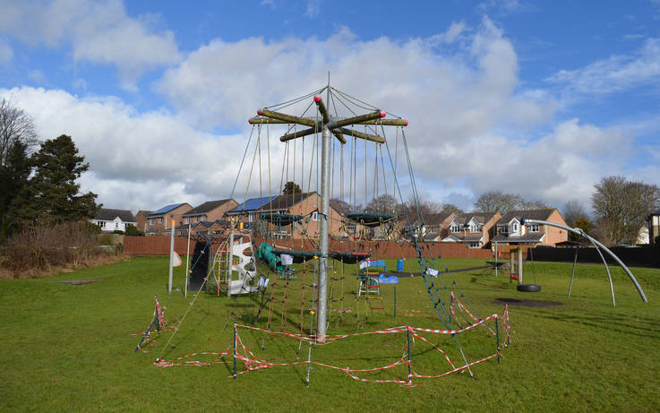 Urgent repairs required to equipment at another Barnard Castle play area
