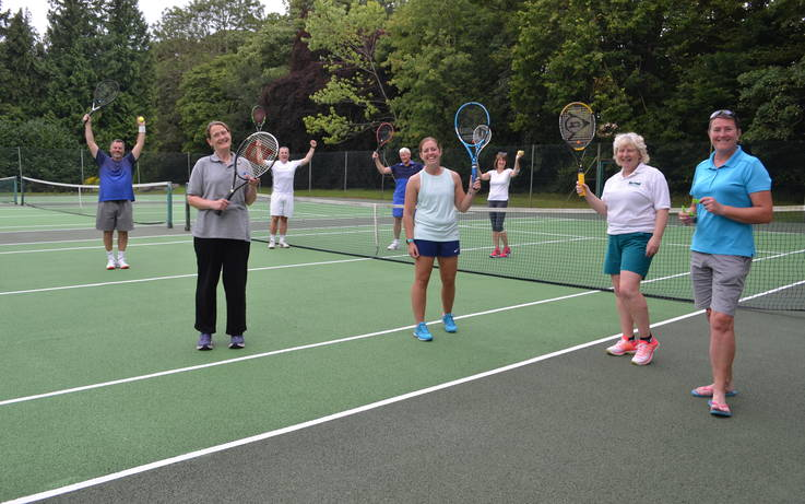 Tennis players plot return to the courts