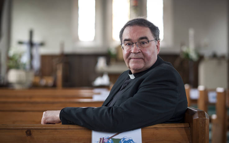 'Quite exceptional priest' looks back on 40 years' service