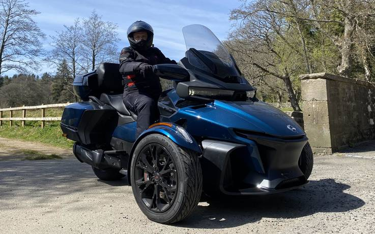Test Drive: The New Can-Am Spyder RT