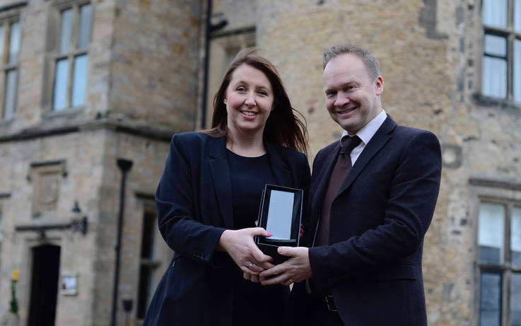 Hotel scoops award for service excellence