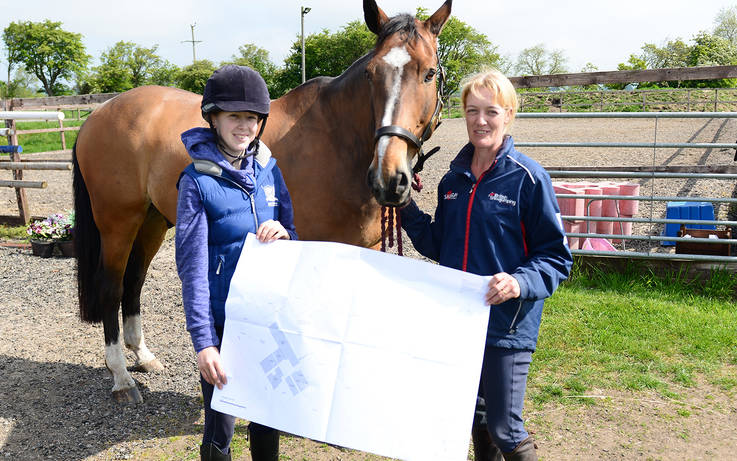 Joy as plan for indoor equestrian centre to go ahead