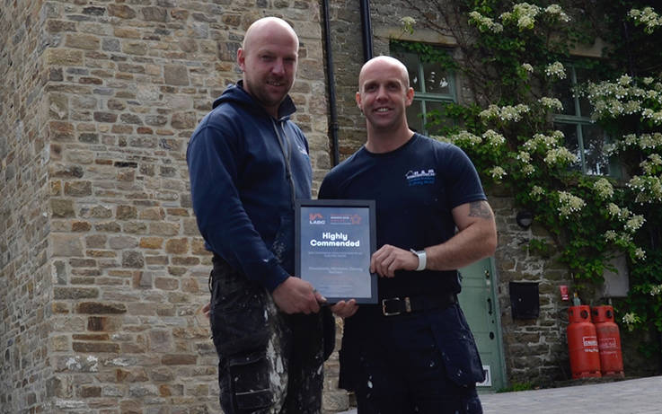 Teesdale builders recognised for conservation work