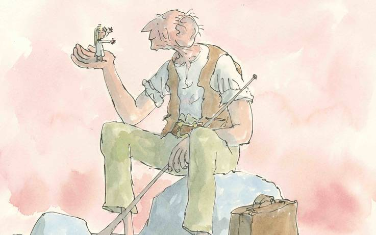 Another major coup for The Bowes Museum will see and exhibition of original BFG drawings