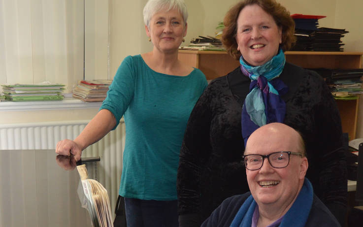 Love is in the air as trio perform to support The Witham