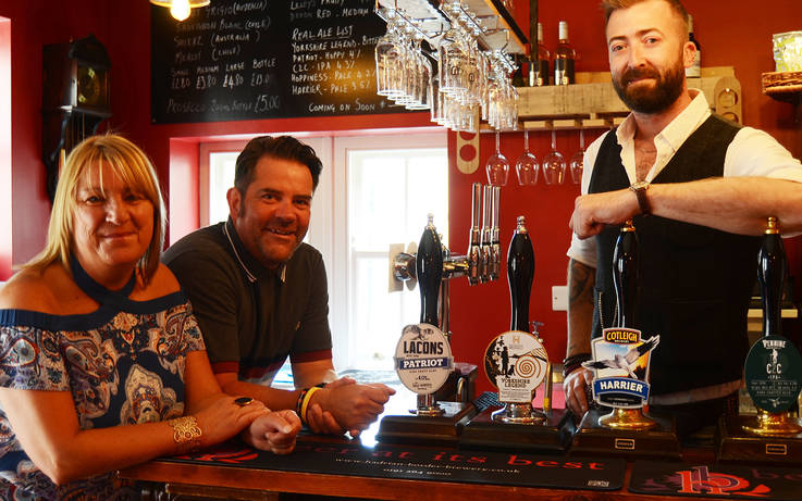 Boost for real ale fans as Firkin Alley reopens